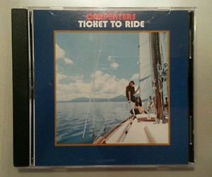 CARPENTERS - Ticket to Ride - CD ** NEAR MINT condition ** RARE