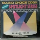 SC 8513 50'S & 60'S VOL.14 SPOTLIGHT SOUND CHOICE KARAOKE CD+G RARE BRENTON WOOD