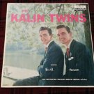 THE KALIN TWINS LP ORIGINAL 1ST PRESS DL 8812  1959  PRISTINE PLAYBACK EX / VG