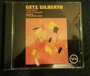 Getz/Gilberto: Joao Gilberto Stan Getz Antonio Jobim 1st press GERMANY CD NM