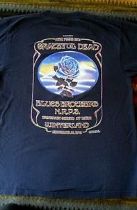 Grateful Dead shirt - Winterland - New Years Eve 1978 Blues Brothers ORIGINAL LG