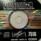 SC 7516 SOUND CHOICE KARAOKE THE FOUNDATION CD+G RARE single disk for sale