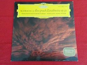 R. Strauss~also sprach zarathustra op.30 DEUTSCHE GRAMMOPHON all Original NM LP