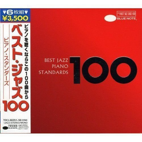 BLUE NOTE Best Jazz 100 Piano Standards Audio 6 CD BOX SET NEW RARE JAPAN IMPORT