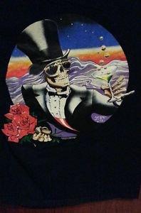 Grateful Dead Shirt T Shirt Vintage ORIGINAL RARE1987 Mouse NYE GDP Large EXCEL