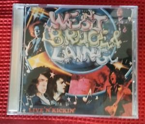 WEST BRUCE LAING Live 'N' Kickin' RARE WEST GERMANY 01 matrix CD issue jack