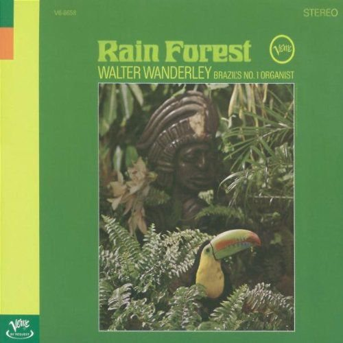 WALTER WANDERLEY : Rain Forest  CD ** EXCELLENT ** RARE VERVE JAZZ NEW AGE **