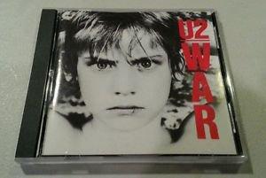 U2 - WAR - A2-90067 - 7567 USA ORIGINAL 1ST RELEASE!!! FULL SILVER CD NM-