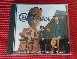 THE CHARLATANS, FIRST ALBUM & ALABAMA BOUND. CD. MADE IN FRANCE. RARE. 1992