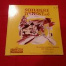 "Schubert ‎– Symphony No. 6 In C Major - Remington 10"" LP ‎– RLP-149-30 RARE 1951"