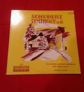 "Schubert �� Symphony No. 6 In C Major - Remington 10"" LP �� RLP-149-30 RARE 1951"