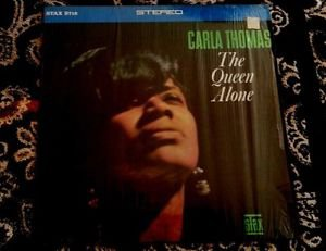 1967 ~ Carla Thomas ~ The Queen Alone LP Stax S718 ~ Soul Funk VG / NM-Shrink
