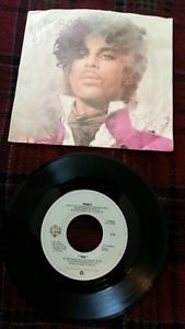 "PRINCE ""1999"" ORIGINAL '83 Warner Bros 45 (don't call me/pic sleeve) VG+ / VG+"