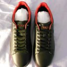Ralph Lauren POLO Black Leather Sneakers  US Shoe Size(Men's):11.5D  Medium New