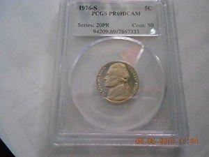 1976-S Jefferson Nickel  Proof 69DC  PCGS