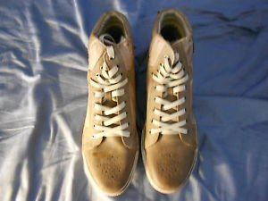 Joe's Jeans Men's Tan Jumps Suede Sneakers  US Shoe Size:11.5M Medium New in Box
