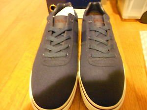 Ralph Lauren POLO Navy Canvas Sneakers(Hanford)  Size: 11.5D  New in box