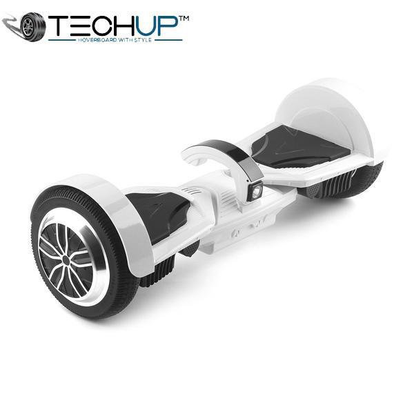 White 2017 Digital Hoverboard 7.5 inch