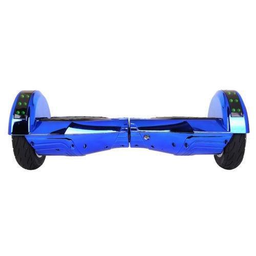 Techup Lamborghini Hoverboard Chrome Blue 8 inch