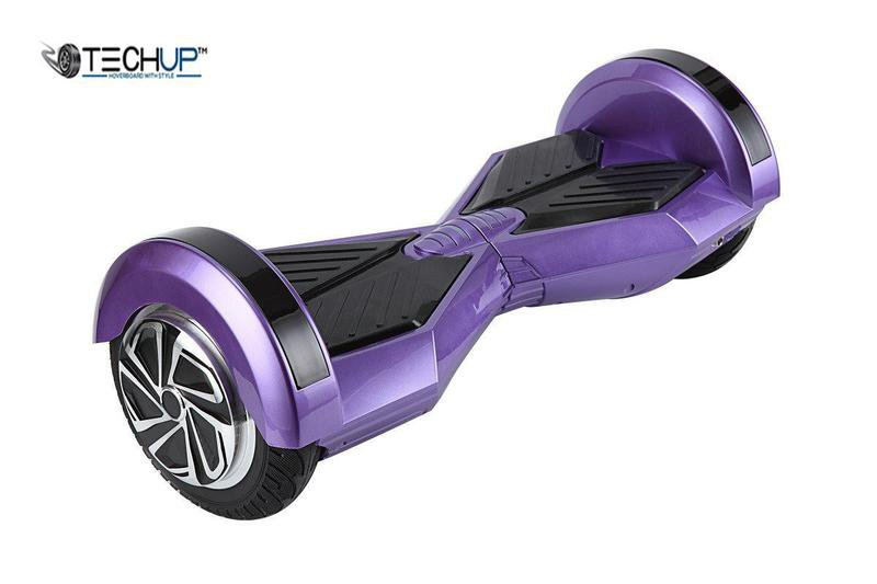 Techup Lamborghini Hoverboard Chrome Purple 8 inch