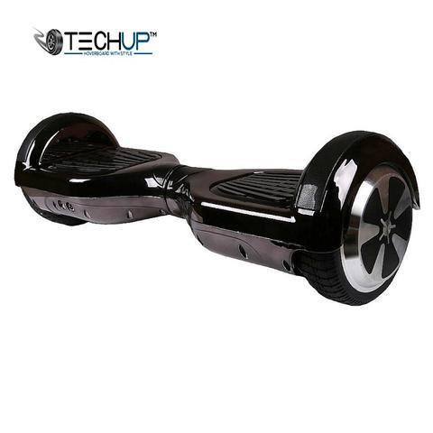 Chrome Jet Black Hoverboard 6.5 inch