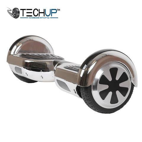 Chrome Sliver Hoverboard 6.5 inch