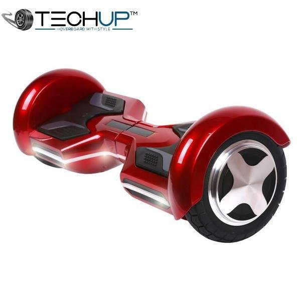 Techup Red OTO Auto Pilot Balance 8 inch Hoverboard