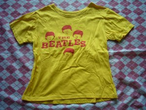 Thailand The Beatles Yellow Tee
