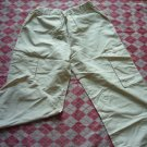 Hong Kong Soft Cream Colour Loose Pants