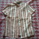 Japan Total Point Lines Shirt with Butterfly
