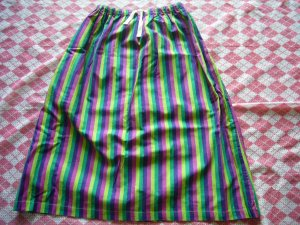 Japan Colourful Lines Skirt