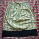 Hong Kong Green House Lines Skirt w/ Jean Part