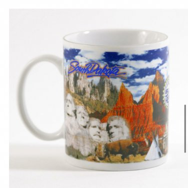 South Dakota Black Hills coffee cup
