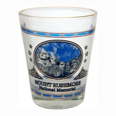 Mount Rushmore South Dakota shotglass