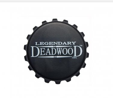 South Dakota Deadwood gift bottle cap magnet