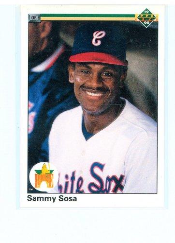 1990 Upper Deck Sammy Sosa Rookie