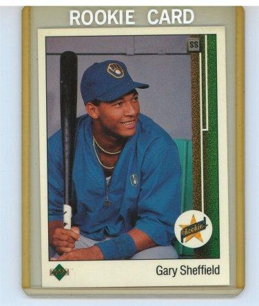 1988-89 Upper Deck Gary Sheffield Rookie Card #13