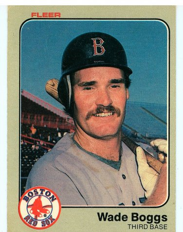 1983 Fleer  Wade Boogs Rookie
