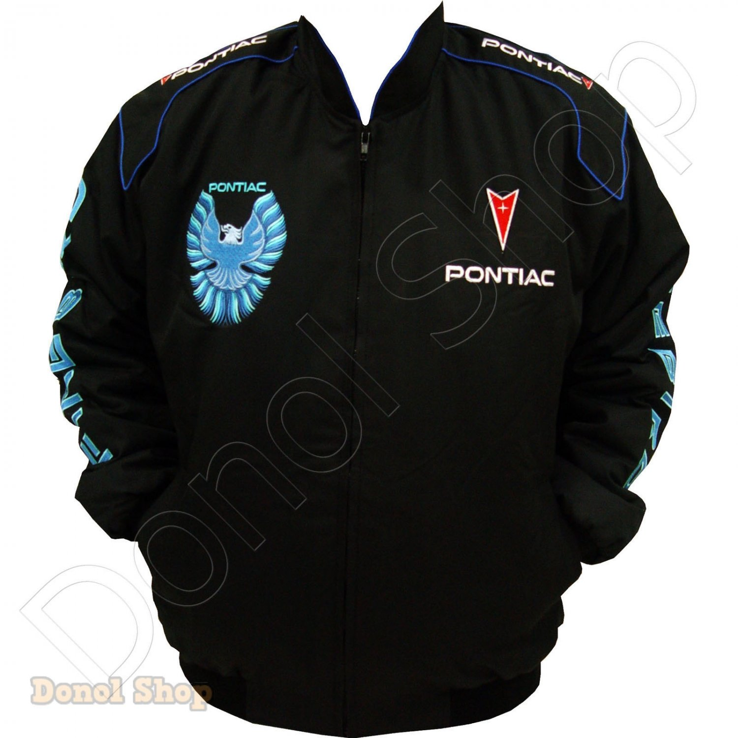 PONTIAC FIREBIRD MOTOR SPORT TEAM RACING JACKET size M