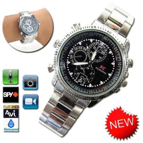 Spy HD Video Wrist Watch Camera 8GB 1280*960 Hidden DV DVR Waterproo