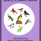 Birds of a Feather Collection Machine Knit DAK ePatterns