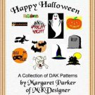 Happy Halloween Machine Knit ePatterns with DAK