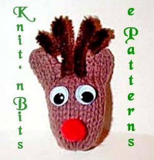 Merry Christmas with Knit n Bits Machine Knit Patterns - Start NOW for Fall