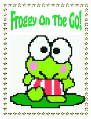 Froggy On The Go - Cross Stitch, Hand Knit, DAK Files - Your Choice
