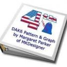 4th Of July Flag Liberty Bell MK DAK or HK Graph