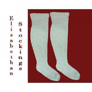 Elizabethan Style Machine Knit Stockings ePattern