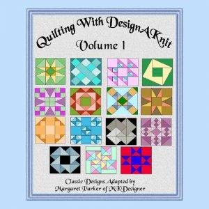 Knit Classic Quilt Patterns V.1 HK Graphs MK DAK