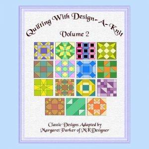 Quilt With Design-A-Knit V.2 HK Graphs MK DAK