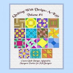 Quilt With Design-A-Knit V.4 HK Graphs MK DAK