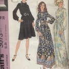 MCCALL'S PATTERN 3073--MISSES' DRESS AND SLIP--SIZE 16/BUST 38